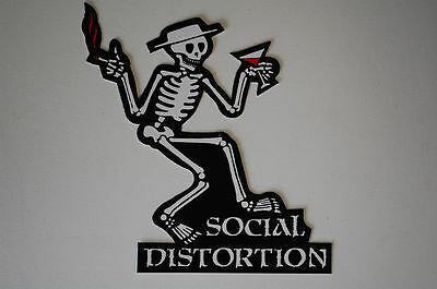Social Distortion Sticker Decal (S41) BUY 3 OF THIS ITEM, GET ONE MORE FREE!