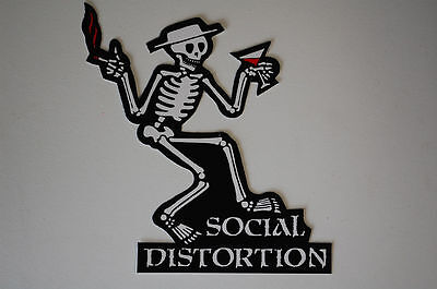 Social Distortion Punk Rock Sticker Decal (S41) Car Truck Laptop Music Mike Ness