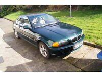 BMW, 3 SERIES, 323CI Coupe, 2000, Manual, 2494 (cc), 2 doors