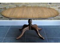 Vintage Retro Ercol ercol Chester extending extendable dining table Golden Dawn mdl 111