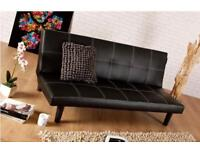 Leather sofa bed for sale sealed in box brand new📦 free delivery 🎉special offers