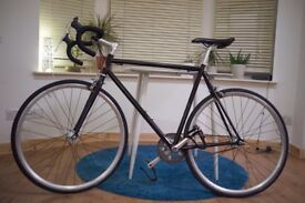 Fixed Gear Bike - Python Duke Fixie Plus EXTRAS (Lights, pump, and helmet)
