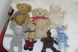 SELECTION OF SOFT TOYS ALL IN GREAT CONDITION SOME NEW WITH TAGS