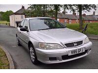 Honda Accord 1.8 v-tec s 2001, 5 door saloon *2 keys**Long Mot*