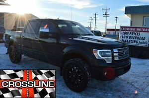 2013 Ford F-150 limited|heated leather|nav|eco-boost