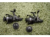 2 XSHIMANO 10000 ST RA FISHING REELS AND SPARE SPOOLS UNUSED