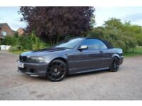 2006 56 BMW 318 Ci M Sport Convertible, Stunning car, Hpi clear, P/ex welcome,
