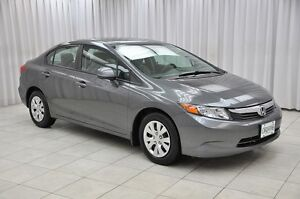 2012 Honda Civic LX SEDAN w/ BLUETOOTH, A/C, POWER W/L/M & CRUIS