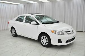 2013 Toyota Corolla CE SEDAN w/ BLUETOOTH, HEATED SEATS & SUNROO
