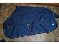 Fal Pro 6' turnout rug, under rug, neck cover and belly flap