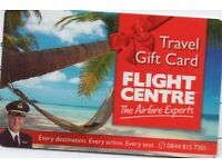 Flight Centre £500 Travel Gift Card - Flights / Holidays for £400