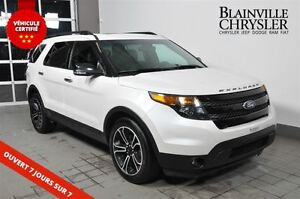 2014 Ford Explorer Sport-Cuir-7 passagers