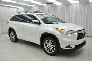2015 Toyota Highlander XLE AWD 8PASS SUV w/ BLUETOOTH, NAVIGATIO