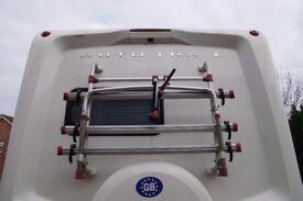 Fiamma motorhome bicycle rack
