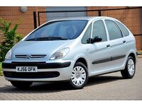 2006 Citroen Xsara Picasso 1.6 i 16v LX 5dr+1 OWNER FROM NEW+SERVICE HISTORY+12 MONTHS MOT