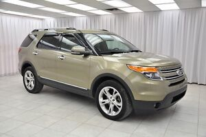 2013 Ford Explorer LIMITED 4x4 7PASS SUV w/ HTD/VENTILATED LEATH