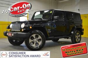2017 Jeep WRANGLER UNLIMITED Sahara 4X4 AUTO NAV REMOTE START