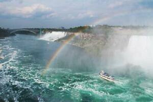 Niagara Falls Whirlpool Boat Tour - Jetdome Boat Ride (An Exciting Ride Down the Niagara River Rapids)