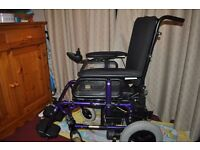 Sunrise Medical Quickie F45 Electric Wheelchair PARTS OR REPAIR