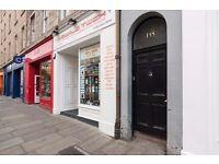 STUDENTS: REF: 20P: Bright 4 bed flat with TV & broadband near Edinburgh Uni available September NO