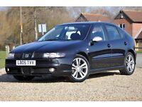 2005 SEAT Leon 1.8 20v Turbo FR 5dr+FREE WARRANTY+FULL SERVICE HISTORY+NEW FRONT TYRES+LONG MOT