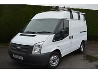 FORD TRANSIT 280 SWB VAN REVERSE CAMERA 1 OWNER 6 SPEED PRO RACKING (white) 2012
