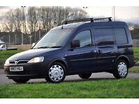 2007 Vauxhall Combo 1.7 TD DIESEL 1700 Panel Van+JUST SERVICED+NO VAT