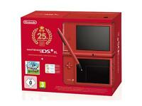 Nintendo DSI Xl limited edition super mario
