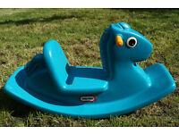 Rocking Horse - Blue