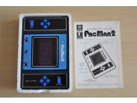 Very Rare PacMan2 electronic game by Entec in orignal box, Thatcham, Berkshire