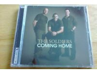 """THE SOLDIERS - """"COMING HOME"""" CD (15 SONGS)"""