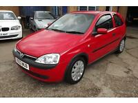 VAUXHALL CORSA 1.0i 12V Active Easytronic Auto AUTOMATIC RARE! LOW MILEAGE (red) 2003