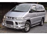 Mitsubishi Delica direct Japan Import supplied fully UK reg. More en route contact Algys Autos.