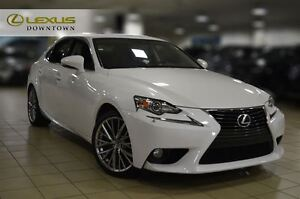 2014 Lexus IS 250 1 OWNER, Back up Camera, Sunroof