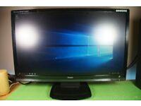 24 Widescreen Screen HD Gaming Monitor and Desktop PC (3.00Ghz CPU, 500gb HDD, 4GB DDR3 RAM)