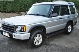 Land Rover Discovery Td5 '52 plate 5 seats