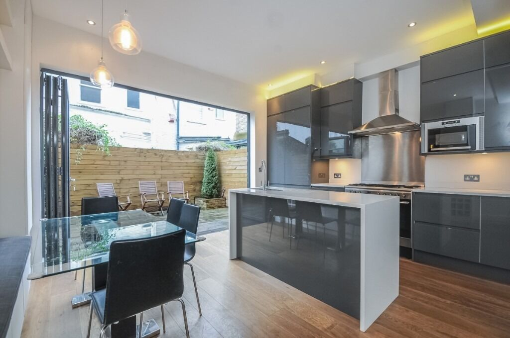 A stunning three bedroom house offering open-plan living and a private garden, Sherbrooke Road, SW6