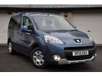 peugeot partner wheelchair accessible wav mobility disability not taxi cab uber vw caddy berlingo