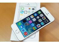 Apple Iphone 5S - White and Silver - 16GB - EE