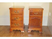 *** Lovely Pair of Antique Bedside Tables ***
