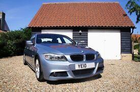 BMW 318d M Sport - 2010 Diesel - Fantastic Condition, very fuel efficient, low tax, long MOT