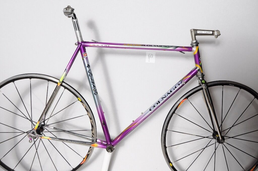 Colnago Master Olympic Decor Classic Vintage Columbus Steel Frame