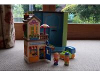 Happyland Mr Bun and Baker and Tea Rooms - with all items and boxed. Excellent Condition