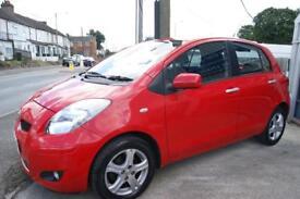 Toyota Yaris Tr VVT-I 5dr (red) 2010