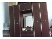 Wardrobes + Dressing Table + Bedside Cabinets = 5 Five Bedroom Suite