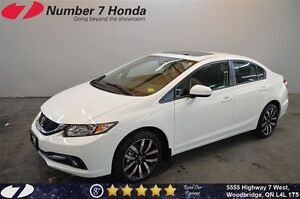 2015 Honda Civic Touring| Loaded, Leather, Navi, Backup Cam!