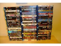 81 Blu Ray Discs all listed - Classic and Modern mix