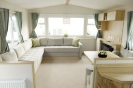 Holiday Home for sale at Rivers Edge, beautiful views, Yorkshire Dales, 2 bedroom static, low fees