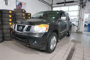 2012 Nissan Armada Platinum Edition CERTIFIÉ,4X4,NAV,DVD,CUIR,TO
