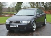 Audi A4 2003 MOT until July 2019. Recent Timing Belt, Water Pump, Clutch, Flywheel and Service